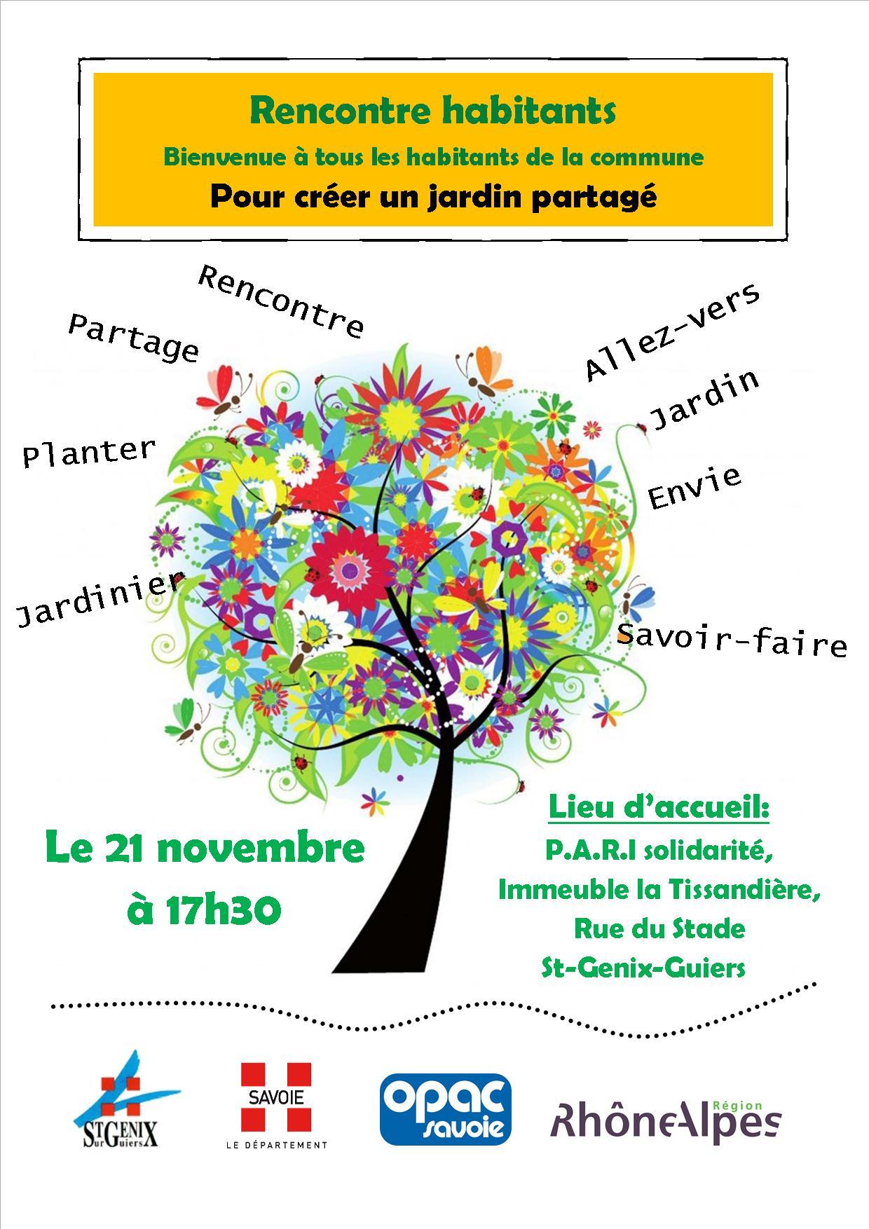 Projet de jardins partag s mairie de saint genix sur - Saint genix sur guiers office du tourisme ...