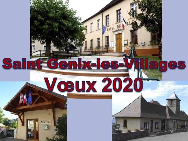 Voeux 2020 de la commune nouvelle